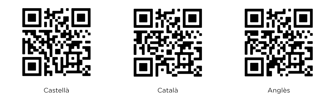 qr codes ouibar cart catalan